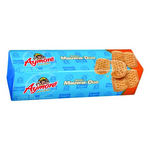 Biscoito Aymoré Maizena Duo