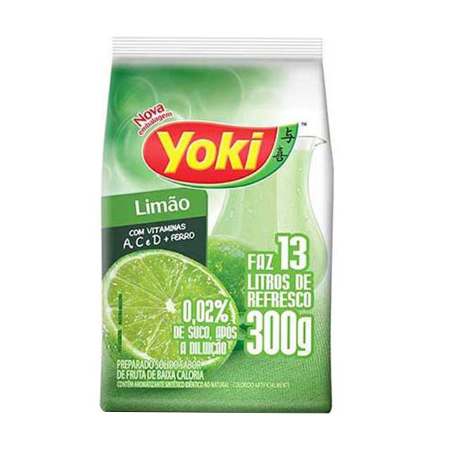 Refresco em Pó Yoki Sabor Limão