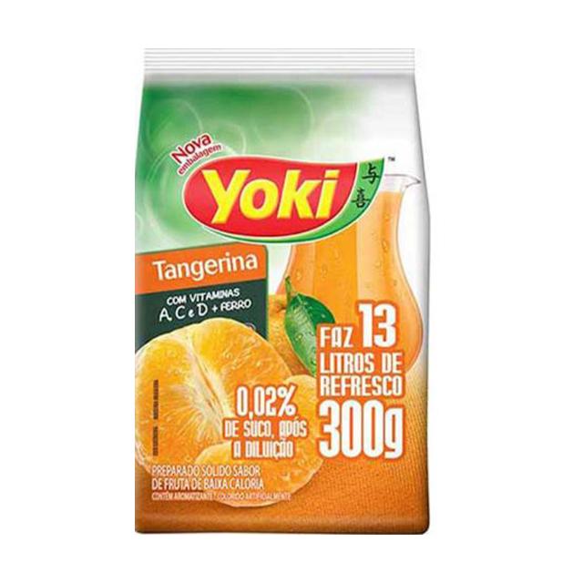 Refresco em Pó Yoki Sabor Tangerina