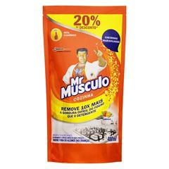 Limpador para Cozinha Mr Musculo Laranja Pouche Refil Menor Preço
