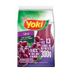 Refresco em Pó Yoki Sabor Uva