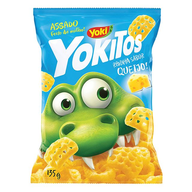 Salgadinho Yoki Yokitos Redinha de Queijo