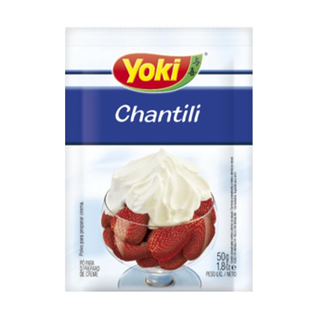 Chantili em Pó Yoki