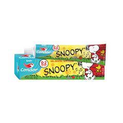 Gel Dental Condor 50g Baby Snoopy Sabor Morango 0 a 2 anos.REF 3513