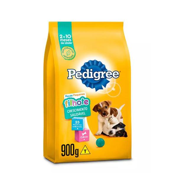 Ração Pedigree Nutrição Completa Raças Pequenas Filhotes