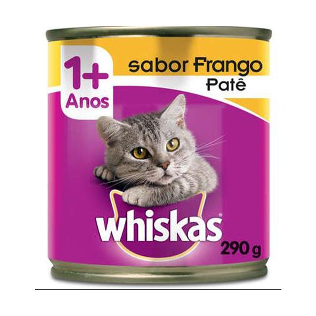 Ração Whiskas Patê Sabor Frango