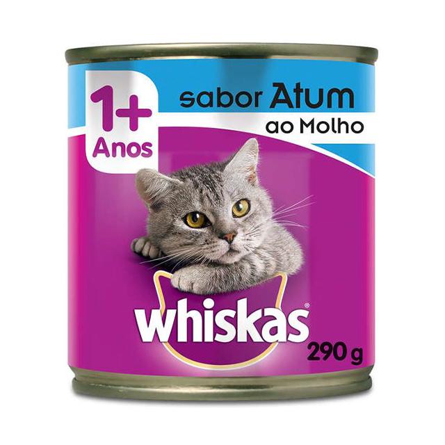 Ração Whiskas Ao Molho Sabor Atum