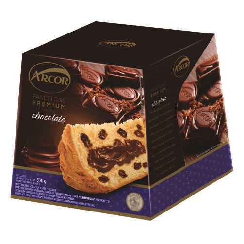 Arcor Panetone Recheado Chocolate