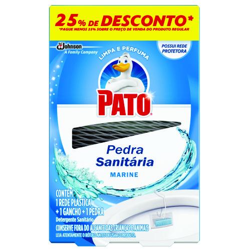 Detergente Sanitário Pato Pedra Marine Oferta