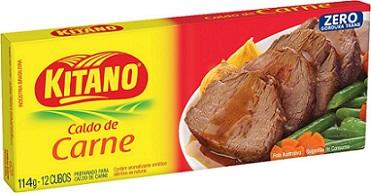 Caldo em Cubo Kitano de Carne 114 gramas