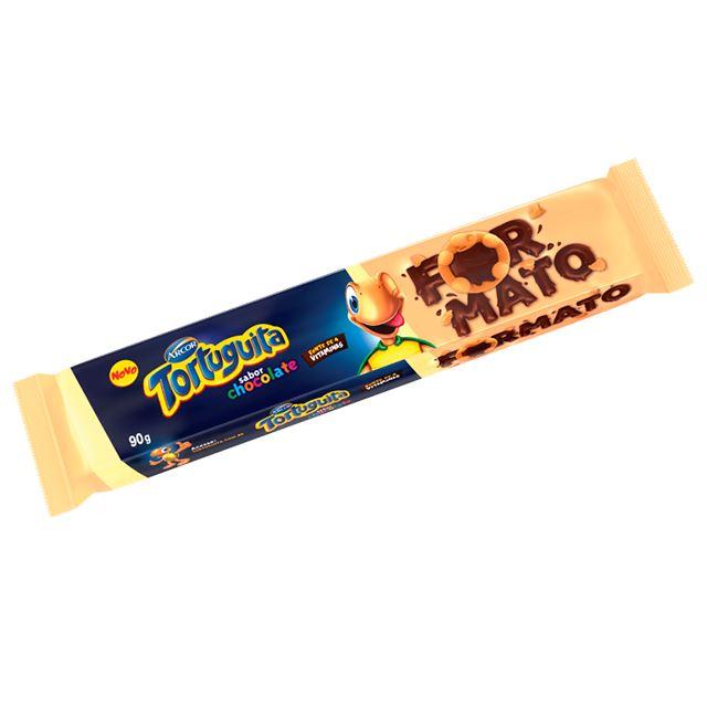Biscoito Arcor Tortini Tortuguita Chocolate