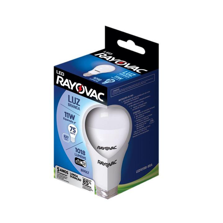 Lâmpada Rayovac Led Branca Bivolt 11W