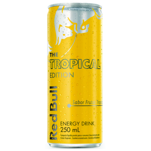 Red Bull Energy Drink Summer Tropical 250ML