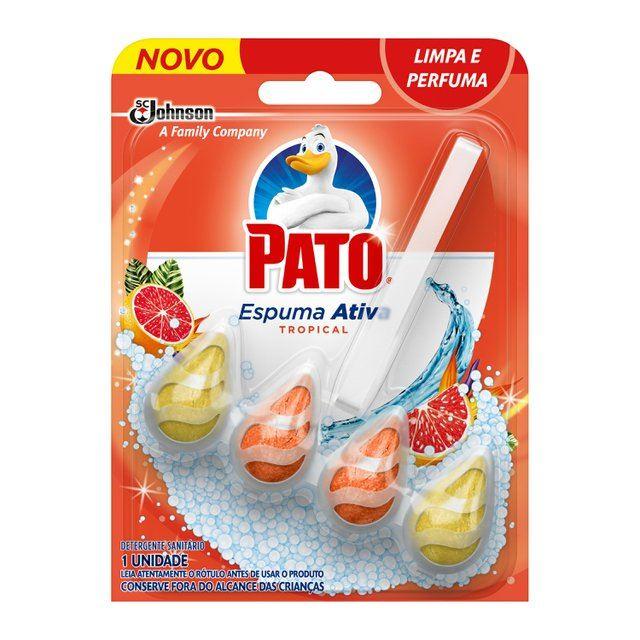 Desodorizador Sanitário Pato Espuma Ativa Tropical