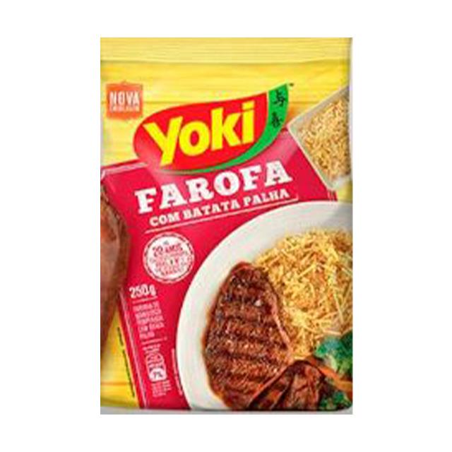 Farofa Yoki com Batata Palha