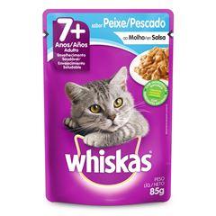 Ração Whiskas Sabor Peixe 7+Anos Adulto