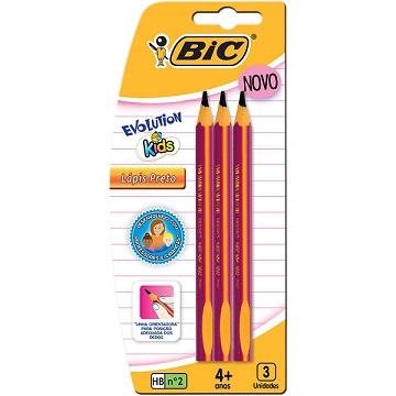 Lápis Bic Evolution Kids
