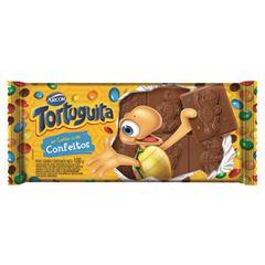 Chocolate Barra Arcor Tortuguita Confeitos 100g