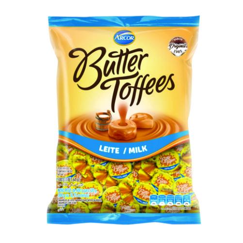 Bala Recheada Arcor Butter Toffees Leite