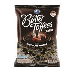 Bala Recheada Arcor Butter Toffees Chokko Amargo