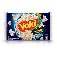 Popcorn para Micro-Ondas Yoki Sabor Manteiga de Cinema