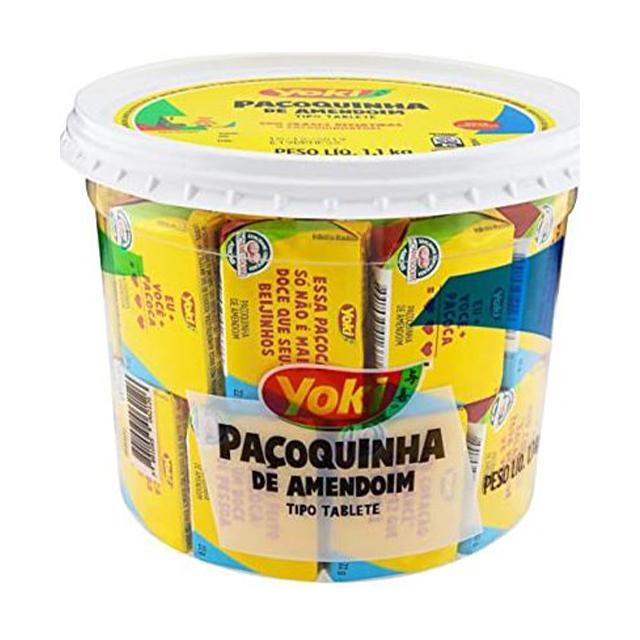 Pacoquinha Yoki Tablete