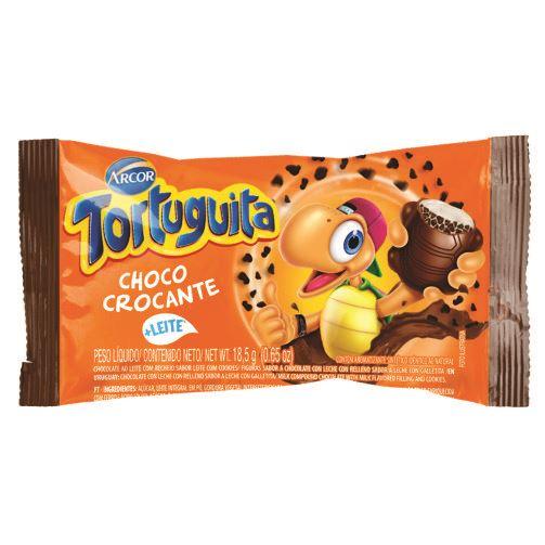 Chocolate Arcor Tortuguita Chocolate Crocante 18,5g