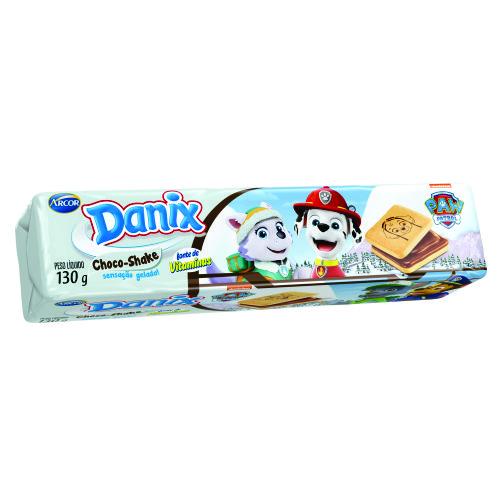 Biscoito Arcor Danix Recheado Choco Shake Paw Patrol