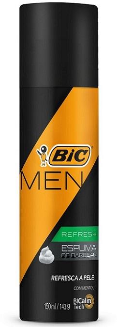 Espuma de Barbear Bic Refresh Men 150ml