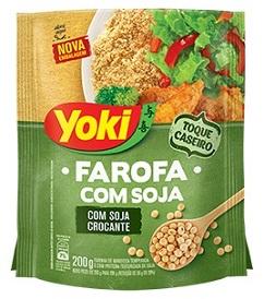 Farofa Yoki de Soja