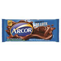 Chocolate Barra Arcor Ao Leite 80g