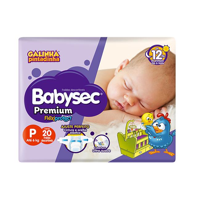 Fralda Softys Babysec Premium Jumbinho Tamanho P