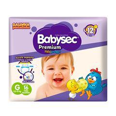 Fralda Softys Babysec Premium Jumbinho Tamanho G