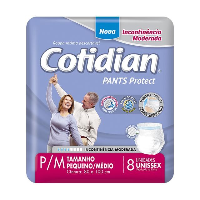 Fralda Geriátrica Softys Cotidian Pants Tamanho P/M