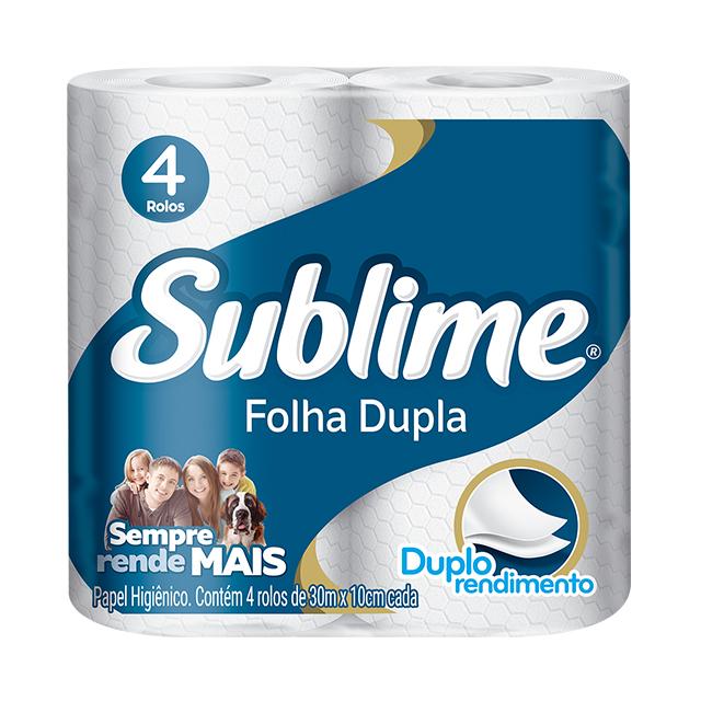 Papel Higiênico Softys Sublime Folha Dupla Neutro 30M