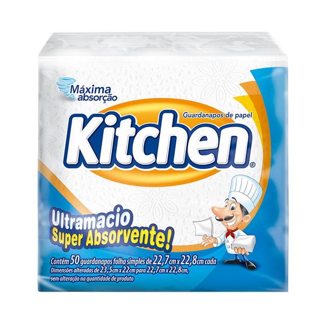 Guardanapo Kitchen Folha Simples Pequeno
