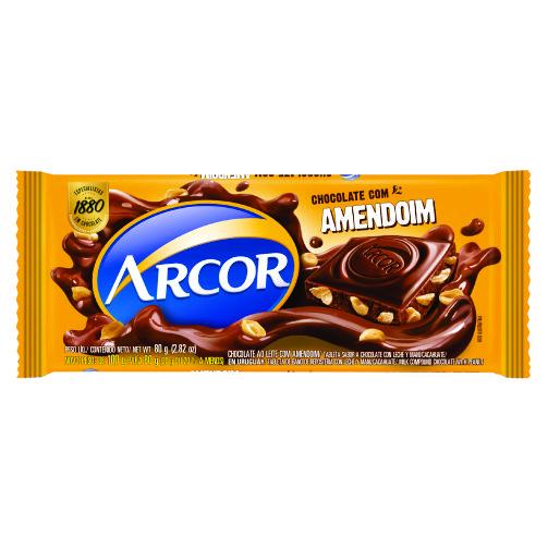 Chocolate Barra Arcor Amendoim 80g