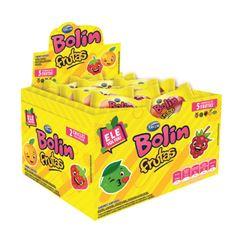Chicle Arcor Bolin Frutas 180g