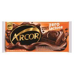 Chocolate Barra Arcor Zero Lactose 80g