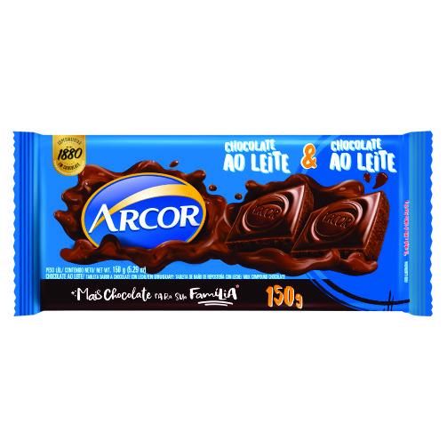 Chocolate Barra Arcor Tortuguita ao Leite 150g
