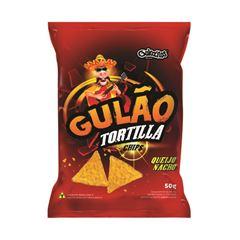 Salgadinho Gulozitos Gulão Tortilla Queijo Nacho com 20 unidades