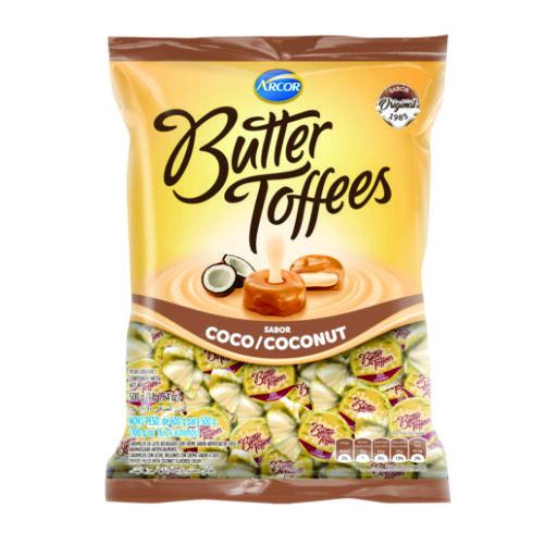 Bala Recheada Arcor Butter Toffees Coco