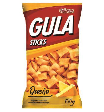 Gula Sticks Gulozitos Queijo com 20 unidades