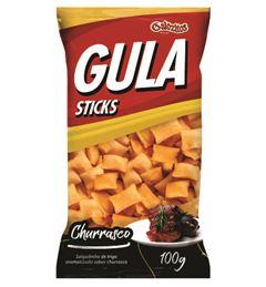 Gula Sticks Gulozitos Churrasco com 20 unidades