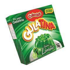 Pó para Gelatina Gulozitos Gulatina Limão