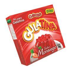 Pó para Gelatina Gulozitos Gulatina Morango