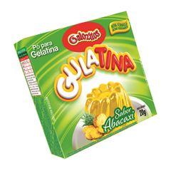 Pó para Gelatina Gulozitos Gulatina Abacaxi