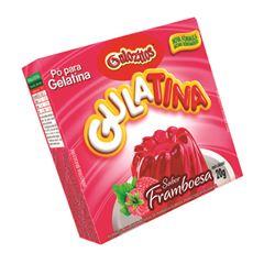 Pó para Gelatina Gulozitos Gulatina Framboesa