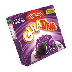 Pó para Gelatina Gulozitos Gulatina Uva