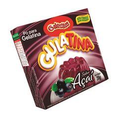 Pó para Gelatina Gulozitos Gulatina  Acai